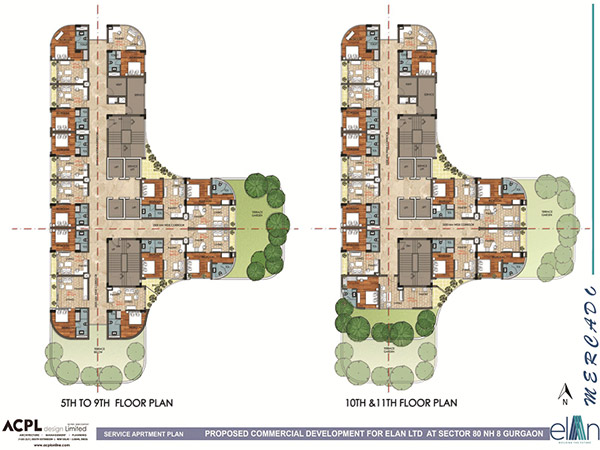 Elan Mercado floorplan