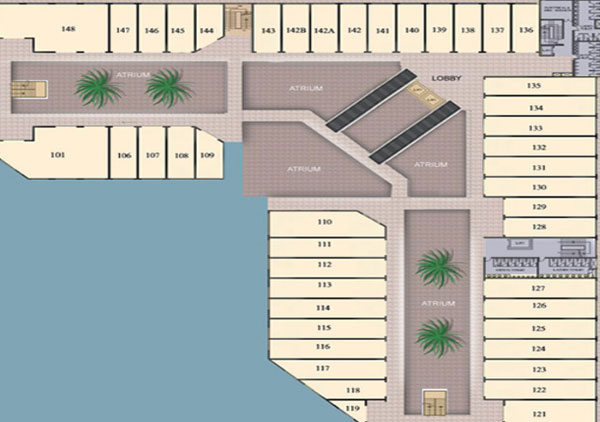 Raheja Mall floorplan