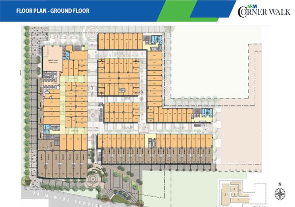 M3m Corner Walk Commercial Retail Shops Sector 74 Sohna Road Gurgaon
