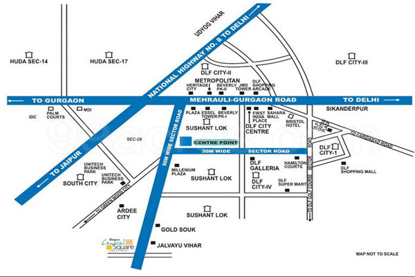 Bestech Central Square Site Plan