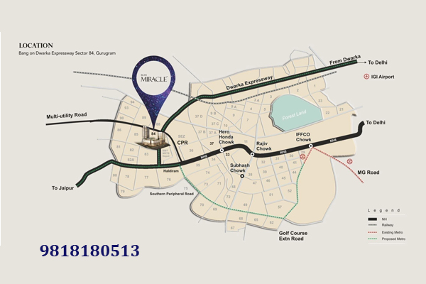 Elan Miracle Site Plan