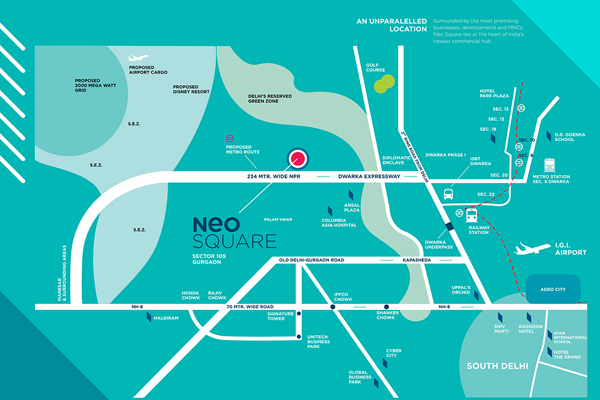 Neo Square Sector 109 Site Plan