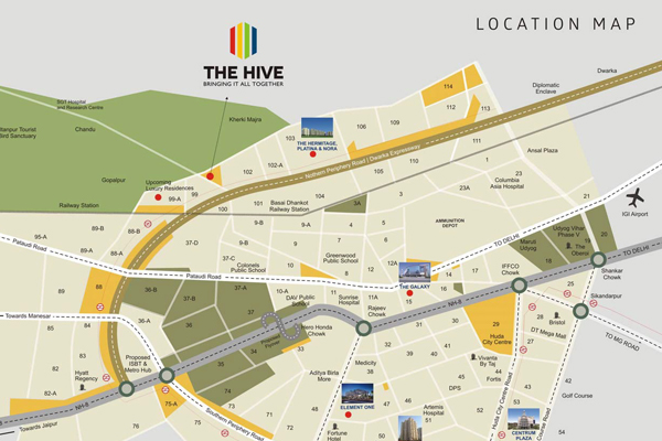 Satya the Hive Site Plan
