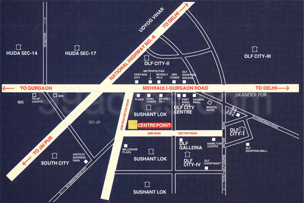 Bestech Center Point Site Plan